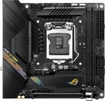 Материнская плата ASUS Socket 1200, B460, SATA ITX (ROG STRIX B460-I GAMING)
