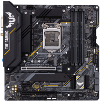 Материнская плата ASUS Socket 1200, B460, U32G2, M.2 (TUF GAMING B460M-PLUS (WI-FI))