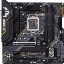 Материнская плата ASUS Socket 1200, B460 DDR4 mATX RTL (TUF GAMING B460M-PLUS)