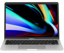 Ноутбук APPLE MacBook Pro 13 Mid 2020 Silver 13.3 Retina (2560x1600) Touch Bar i5 1.4GHz (3.9GHz) quad-core 8th-gen/8Gb/256GB/Iris Plus Graphics 645 (2020) (MXK62RU/A)