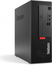 Компьютер LENOVO ThinkCentre M720e SFF PG G5420 (3.8)/4Gb/SSD256Gb/UHDG 610/DVDRW/Windows 10 Professional 64/GbitEth/180W/клавиатура/мышь/черный (11BD006PRU)