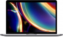 Ноутбук APPLE 13-inch MacBook Pro (2020): T-Bar, 2.3GHz Q-core 10thgen. Intel Core i7, TB up to 4.1GHz, 16GB, 512GB SSD, Intel Iris Plus Graphics, Space Gray (mod.; Z0Y6/1) rep.Z0WQ000ES (Z0Y6000YC)