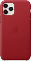 Чехол APPLE iPhone 11 Pro Leather Case - (PRODUCT)RED (MWYF2ZM/A)