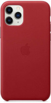 Чехол APPLE iPhone 11 Pro Max Leather Case - (PRODUCT)RED (MX0F2ZM/A)