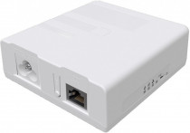 Powerline адаптер MIKROTIK PWR-LINE PRO (supports Data over Powerlines), one Gigabit Ethernet port with PoE-out, removable power cord (PL7510GI)