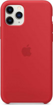 Чехол APPLE iPhone 11 Pro Max Silicone Case - (PRODUCT)RED (MWYV2ZM/A)