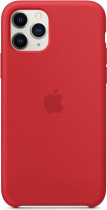 Чехол APPLE iPhone 11 Pro Silicone Case - (PRODUCT)RED (MWYH2ZM/A)