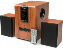 Акустическая система DIALOG Progressive 2.1, 10W+2*5W RMS, USB+SD reader (AP-150 Brown)