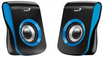 Акустическая система GENIUS Geinus SP-Q180, 2.0, 2 x 3W RMS, USB-power, Blue (31730026403)