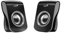 Акустическая система GENIUS Geinus SP-Q180, 2.0, 2 x 3W RMS, USB-power, Iron Grey (31730026400)