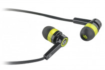 Гарнитура DEFENDER Pulse-420 Black/yellow 4-пин 3,5 мм jack, кабель-1,2м (63421)