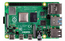 Микрокомпьютер RASPBERRY PI 4 Model B Retail, 8GB RAM, Broadcom BCM2711 Quad core Cortex-A72 (ARM v8) 64-bit SoC @ 1.5GHz CPU, WiFi, Bluetooth, 40-pin GPIO, 2x USB 3.0, 2xUSB 2.0,2x micro-HDMI,CSI camera port,DSI display port,MicroSD port,USB-C 5V Power разъем (RA608)
