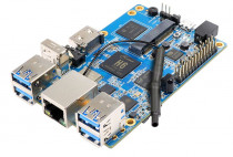 Микрокомпьютер ORANGE PI 3 H6 (2GB+8GB eMMC) Quad-core 64-bit 1.8GHZ ARM Cortex™-A53with 2GB LPDDR3 (shared with GPU) with 8GB eMMC flash (RD048)