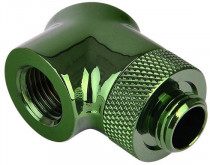 Адаптер THERMALTAKE Pacific G1/4 90 Degree Adapter - Green/DIY LCS/Fitting/2 Pack (CL-W052-CU00GR-A)