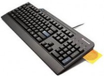 Клавиатура LENOVO USB Smartcard Keyboard (Russian/Cyrillic) Smart cards that comply ISO 7816-1, 2, 3 , 4 memory and microprocessor smart cards (T=0 and T=1) (4X30G19460)
