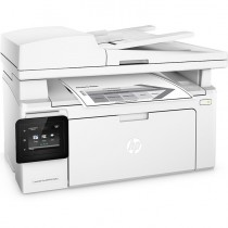 МФУ HP LaserJet Pro MFP M132fw RU (p/c/s/f, A4, 1200dpi, 22ppm, 256 Mb, 1 tray 150, ADF 35 sheets, USB/LAN/Wi-Fi, Flatbed, Cartridge 1400 pages & USB cable 1m in box, 1y warr,CZ183A) (G3Q65A)