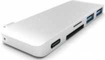 USB хаб SATECHI Type-C USB 3.0 Passthrough Hub для Macbook 12