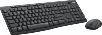 Клавиатура + мышь LOGITECH Wireless Desktop MK295 SilentTouch USB GRAPHITE (920-009807)