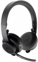 Гарнитура LOGITECH Headset Wireless Zone Teams Graphite (981-000854)