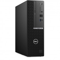 Компьютер DELL Optiplex 5080 SFF i5 10500 (3.1)/8Gb/SSD256Gb/UHDG 630/DVDRW/Windows 10 Professional/GbitEth/200W/клавиатура/мышь/черный (5080-6420)