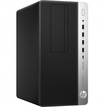 Компьютер HP ProDesk 600 G5 MT i5 9500 (3)/8Gb/1Tb 7.2k/DVDRW/Windows 10 Professional 64/GbitEth/250W/клавиатура/мышь/черный (7AC25EA)