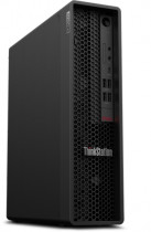 Компьютер LENOVO ThinkStation P340 SFF i7 10700 (2.9)/16Gb/1Tb 7.2k/SSD256Gb/P1000 4Gb/DVDRW/CR/Windows 10 Professional 64/GbitEth/310W/клавиатура/мышь/черный (30DK0032RU)