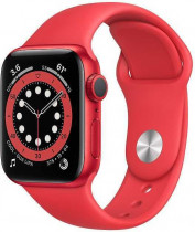 Смарт-часы APPLE Watch S6 40mm PRODUCT(RED) Aluminum Case with PRODUCT(RED) Sport Band (M00A3RU/A)
