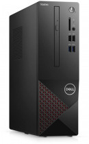 Компьютер DELL Vostro 3681 SFF i3 10100 (3.6)/8Gb/SSD256Gb/UHDG 630/DVDRW/CR/Windows 10 Professional/GbitEth/WiFi/BT/200W/клавиатура/мышь/черный (3681-2642)