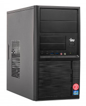 Компьютер IRU Office 315 MT i5 9400 (2.9)/8Gb/1Tb 7.2k/UHDG 630/Windows 10 Professional 64/GbitEth/400W/черный (1418979)