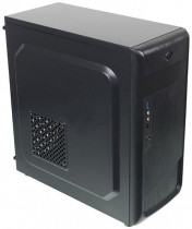 Компьютер IRU Home 313 TWR i3 9100F (3.6)/8Gb/1Tb 7.2k/GTX1050Ti 4Gb/Windows 10 Home Single Language 64/GbitEth/400W/черный (1434781)