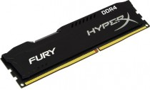 Память KINGSTON 16GB DDR4 2666 DIMM HyperX FURY Black Non-ECC, CL16, 1.2V, Retail (HX426C16FB/16)