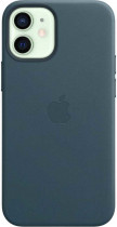 Чехол APPLE iPhone 12 mini Leather Case with MagSafe - Baltic Blue (MHK83ZE/A)