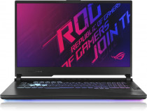 Ноутбук ASUS ROG Strix G17 G712LU-EV024T Core i7-10750H/16Gb1TB M.2 NVMe/17.3 FHD IPS 144Hz(1920x1080)/GeForce GTX 1660Ti 6Gb/WiFi6/BT/Cam/Windows 10 Home/Gaming Mouse/Black/2,8kg (90NR03B1-M02300)