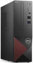 Компьютер DELL Vostro 3681 SFF i3 10100 (3.6)/4Gb/SSD256Gb/UHDG 630/DVDRW/CR/Windows 10 Professional/GbitEth/WiFi/BT/200W/клавиатура/мышь/черный (3681-2581)