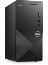 Компьютер DELL Vostro 3888 MT i5 10400 (2.9)/8Gb/1Tb 7.2k/UHDG 630/DVDRW/CR/Windows 10 Professional/GbitEth/WiFi/BT/260W/клавиатура/мышь/черный (3888-2925)
