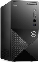 Компьютер DELL Vostro 3888 MT PG G6400 (4)/4Gb/1Tb 7.2k/UHDG 610/DVDRW/CR/Windows 10/GbitEth/WiFi/BT/260W/клавиатура/мышь/черный (3888-0002)