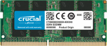 Память CRUCIAL SO-DIMM DDR 4 DIMM 16Gb PC25600, 3200Mhz, (retail) (CT16G4SFRA32A)