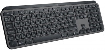 Клавиатура LOGITECH Wireless MX Keys Advanced Illuminated Keyboard Graphite (920-009417)