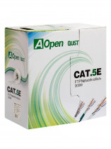 Кабель AOPEN CABLE FTP 4 пары кат.5е (бухта 305м) QUST (ANC524)