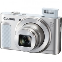 Фотокамера CANON PowerShot SX620 HS White 20.3Mp, 25x Zoom, WiFi, SD (1074C002)