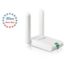 Wi-Fi адаптер USB TP-LINK WRL 300MBPS ADAPTER USB HIGH GAIN (TL-WN822N)