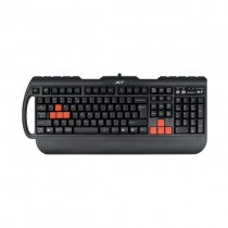 Клавиатура A4TECH G700 black Fast Gaming waterproof PS/2 (G700 PS)