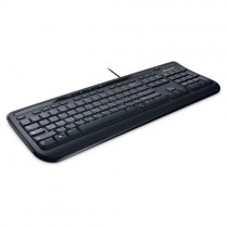 Клавиатура MICROSOFT Wired Keyboard 600, USB, Black (ANB-00018)