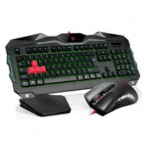 Клавиатура + мышь A4TECH A4 (Q210+Q9) / USB/ Multimedia Gamer / Wired / Black (Bloody Q2100/B2100)