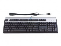 Клавиатура HP USB BFR-PVC RU Keyboard/Mouse Kit (638214-B21)