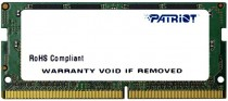 Память PATRIOT MEMORY DDR4 4Gb 2133MHz RTL PC4-17000 CL15 SO-DIMM 260-pin 1.5В single rank (PSD44G213381S)