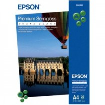 Бумага EPSON Premium Semigloss Photo Paper A4 (20 pa (C13S041332)