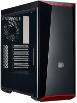 Корпус COOLER MASTER Midi-Tower MasterBox lite5 w/Acrylic side panel, USB 3.0*2, Acrylic side panel, Bezel with red trim +extra 2 (MCW-L5S3-KANN-01)