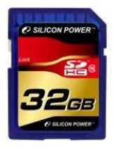 Карта памяти SILICON POWER 32Gb CL10 SDHC Retail (SP032GBSDH010V10)