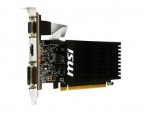 Видеокарта MSI GEFORCE GT 710 1GB DDR3 64Bit (GT 710 1GD3H LP)